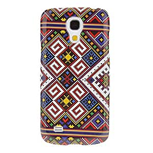 Zaki- Embroidery Pattern Protective Hard Back Cover Case for Samsung Galaxy S4 Mini I9190