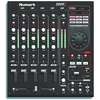 5000fx 5-channel scratch mixer with effects and sample | numark.