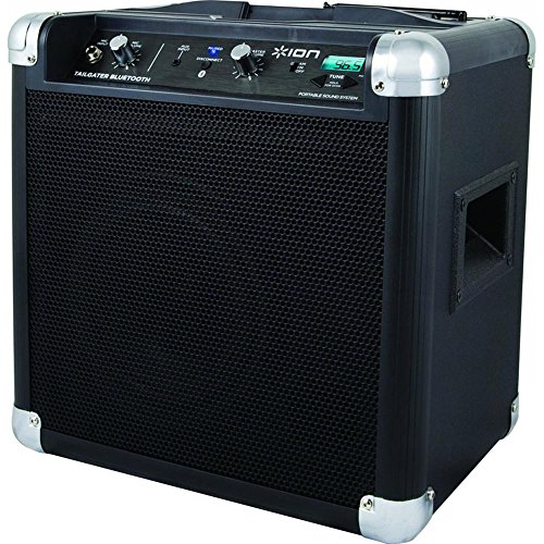 ION Audio Tailgater (iPA77) | Portable Bluetooth PA Speaker with Mic, AM/FM Radio, and USB Charge...