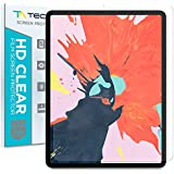 Tech Armor HD Clear Plastic Film Screen Protector (Not Glass) Designed for Apple iPad Pro 12.9-inch (New 2018) [2-Pack]