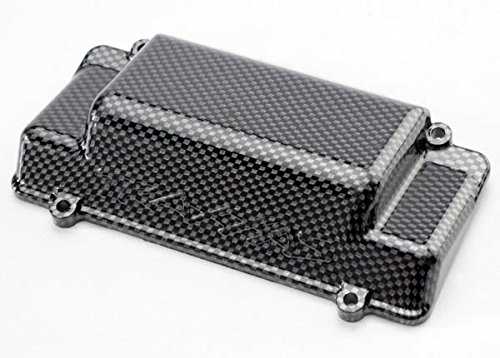 Traxxas 5515G Exo-Carbon Rear Bumper / Battery Box Cover, (Traxxas Jato Hop Ups)