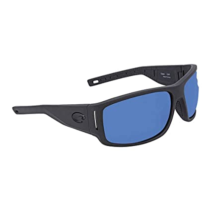 feab10c7364 Image Unavailable. Image not available for. Color  Costa Del Mar Costa Del  Mar CAP187OBMP Cape Blue Mirror 580P Matte Black Ultra Frame Cape