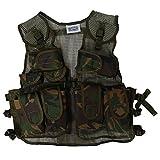 Storybook Wishes Kids Army Combat Multi-Pocket Adjustable Camouflage Vest