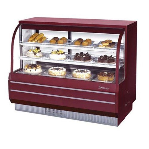 (Turbo Tcgb-60-Co Display Case, Curved Glass, Bakery, Dual Dry and Refrigerated,)