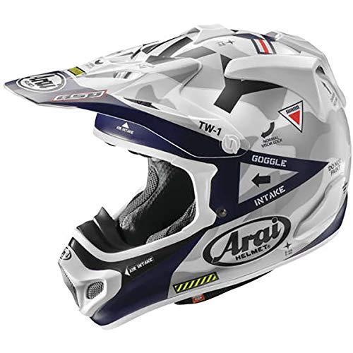 Arai Motocross Helmet - Arai VX-Pro 4 Helmet - Navy (MEDIUM) (ONE COLOR)