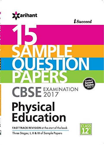 Cbse 15 sample question paper physical education cbse class 12 cbse 15 sample question paper physical education cbse class 12 amazon arihant experts books malvernweather Images