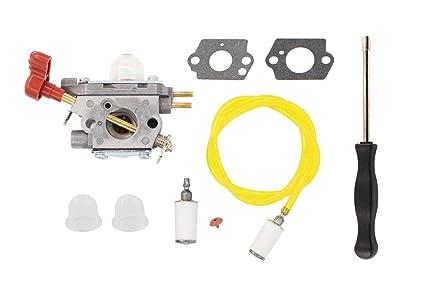 carburetor fuel line filter carb tool kit for craftsman troybilt tb2044xp  ms2550 ms2560 tb2040xp yard machine