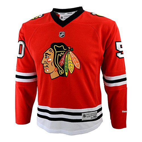 Chicago Blackhawks Youth Corey Crawford Replica Jersey - Red #50, Youth Large-XL