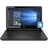 2017 Newest Edition HP Pavilion 15.6 HD(1366x768) SVA High Performance WLED-Backlit TouchScreen Laptop, Intel Quad-Core Pentium, 4GB RAM, 500GB HDD, SuperMulti DVD, Win10, Black