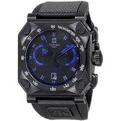 Zodiac ZMX Men's ZO8538 Adventure Analog Display Swiss Quartz Black Watch