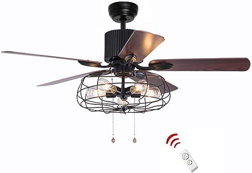 52 Inch Retro Industrial Ceiling Fan