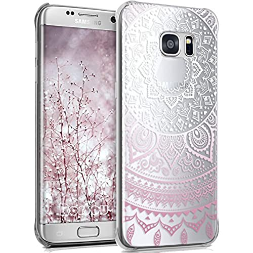 Galaxy S7 Edge Case,S7 Edge Case,RorSou Slim Fit [Crystal Clear][Scratch Resistant] Flexible Grip Soft TPU Protection Sales