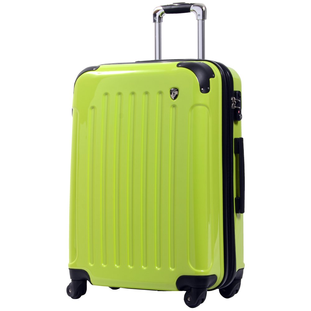 [グリフィンランド]_Griffinland TSAロック搭載 スーツケース 超軽量 ミラー加工 newFK1037 ファスナー開閉式 B00QF24HOC SS(機内持込)型|マスカットグリーン マスカットグリーン SS(機内持込)型