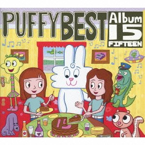 Price comparison product image Puffy - 15 (2CDS+DVD+TOWEL) [Japan LTD CD] KSCL-1891