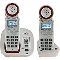 Clarity Extra Loud Big Button Speakerphone with Talking Caller Id and Clarity Logic with Extra Handset