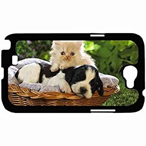 New Style Customized Back Cover Case For Samsung Galaxy Note 2 Hardshell Case, Back Cover Design Cute Personalized Unique Case For Samsung Note 2 wangjiang maoyi