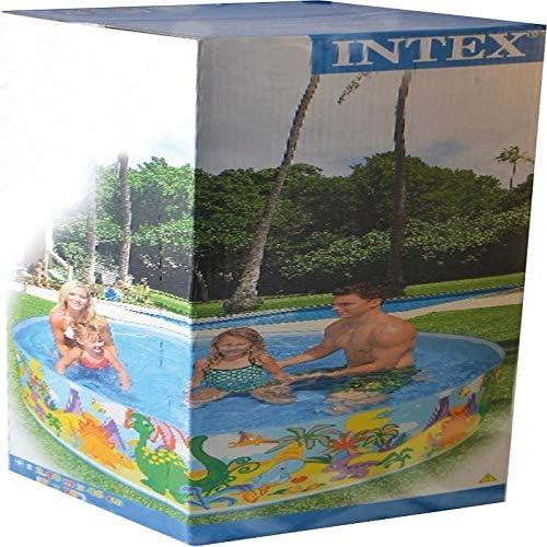 Intex Coral Reef 8ft Snapset Paddling Pool #58472