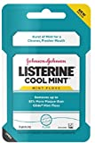 Listerine Dental Floss, Cool Mint 55 yds (Pack of 10) For Sale