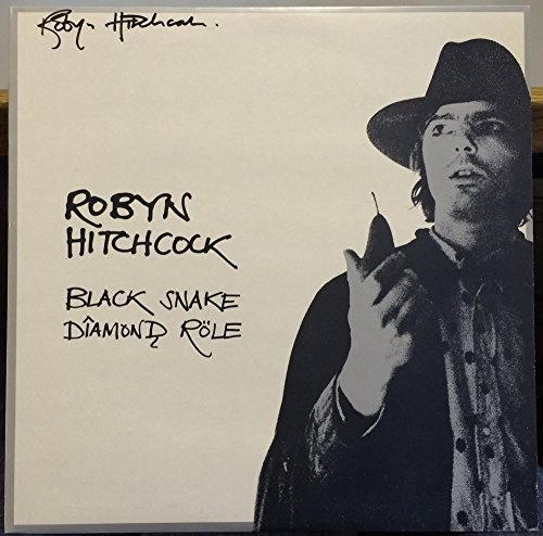 Robyn Hitchcock Black Snake Diamond Role vinyl record (Robyn Hitchcock Black Snake)
