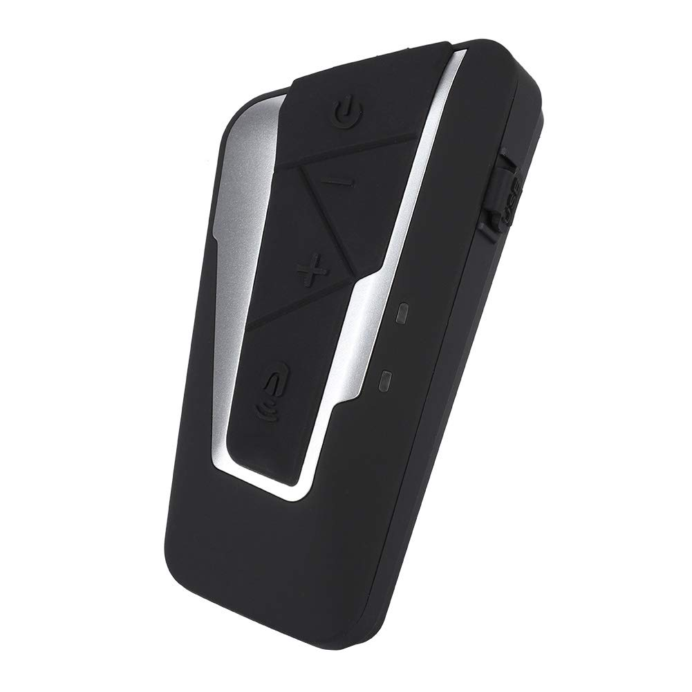 Garsent Interfono Bluetooth per Motocicletta Sistema interfono Professionale per Cuffie Stereo Full Duplex 1200M Full Duplex
