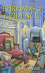 Threads of Evidence (Mainely Needlepoint series Book 2)