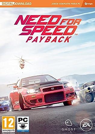 Need for Speed Payback Edición estándar La caja contiene un código de