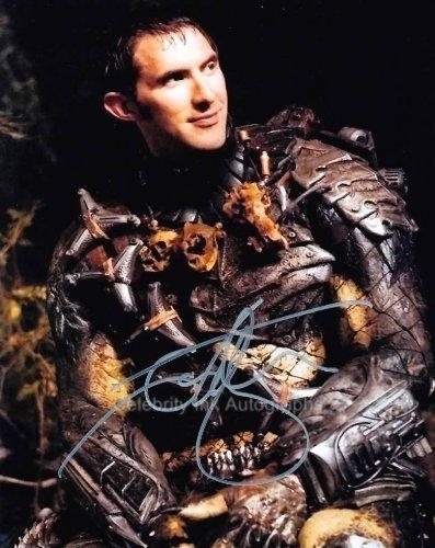 IAN WHYTE as Predator - Aliens Vs. Predator Genuine Autograph from Celebrity Ink