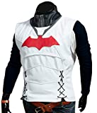 F&H Boy's Jason Todd Arkham Knight Batman Synthetic Leather Vest XL Multi