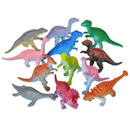Mini Dinosaur Figures Hard Plastic