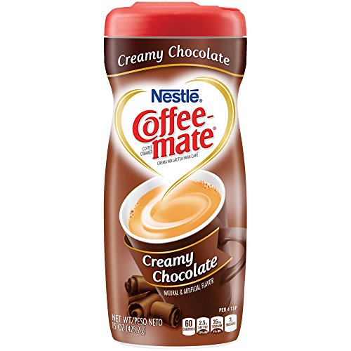 COFFEE-MATE Creamy Chocolate Powder Coffee Creamer 15 oz. Canister by Coffee-Mate