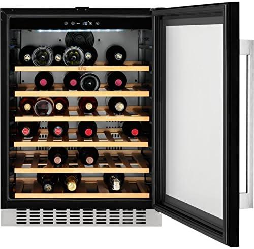 AEG SWB66001DG Integrado Nevera de vino Negro A - Enfriador de ...