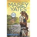Slow Burn Cowboy: A Western Romance Novel Take Me, Cowboy (Copper Ridge)