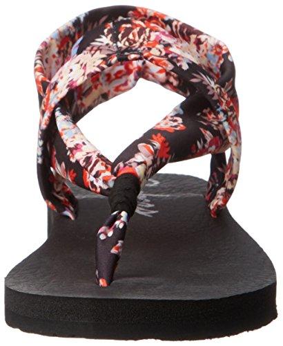 nbsp;Studio Skechers Meditation Sandali Floral Black Kicks Donna wqOqaRH5