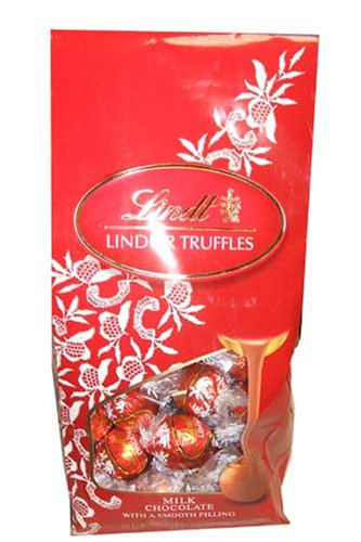 Lindt Lindtor Milk Chocolate Truffles 19 Ounce Gift Bag