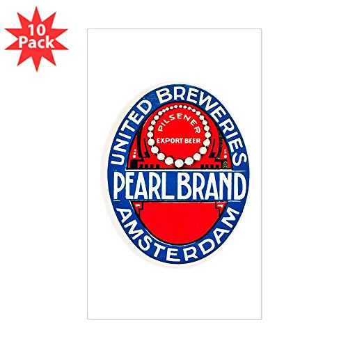 CafePress - Holland Beer Label 12 - Rectangle Bumper Sticker (10-Pack), Car Decal