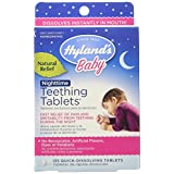 Hyland Homeopathic Baby Natural Relief Night Time Teething Tablets - 135 Count