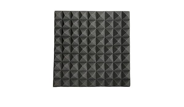 EsportsMJJ 45 X 45 X 5Cm Negro Triángulo Aislamiento Reducir Ruido Esponja Espuma Algodón: Amazon.es: Industria, empresas y ciencia