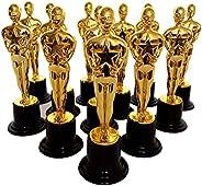 "Oscar Award Trophies, 6"" Inch Plastic Award Ceremony Oscar Tro"