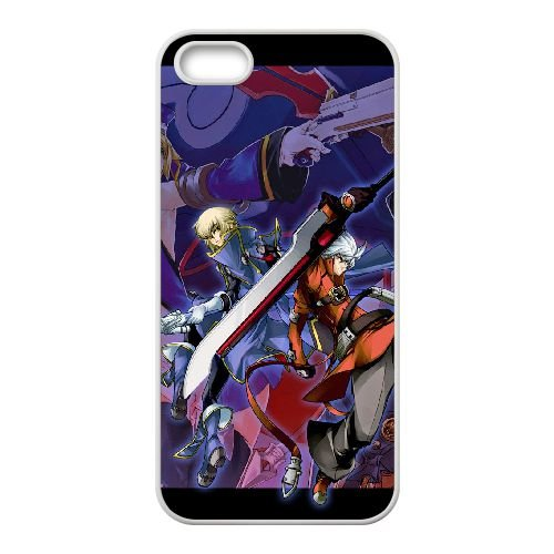 Blazblue B1C13K5VF coque iPhone 5 5s case coque white 40P8K0
