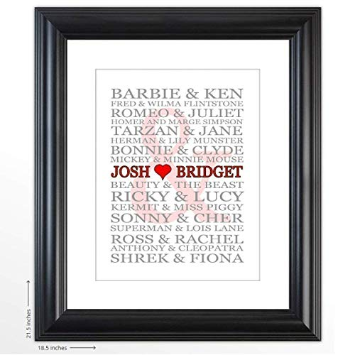 Personalized Wedding Gift -