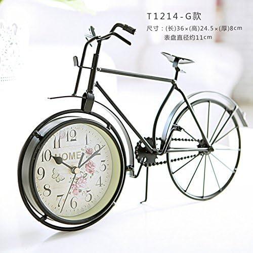 Lotefong Los Hogares Estadounidenses Reloj Bicicleta TV Gabinete ...