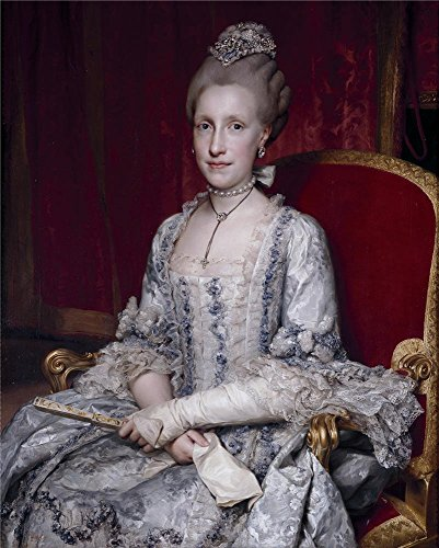 'Mengs Anton Rafael Maria Luisa De Borbon Gran Duquesa De Toscana 1770 ' Oil Painting, 10 X 12 Inch / 25 X 32 Cm ,printed On Polyster Canvas ,this High Quality Art Decorative Canvas Prints Is Perfectly Suitalbe For Bedroom Decor And Home Decoration And Gifts