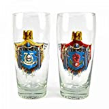 Warhammer 40,000 Set Of 2 Large Glasses - Chapter