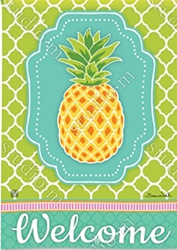 BreezeArt Preppy Pineapple Garden Flag 31473 (Breeze Art)