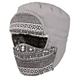 Mirah June Unisex Men and Women Warm Winter Ear Flap Ski Hat