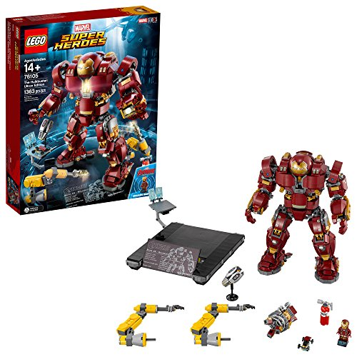 Lego Marvel Super Heroes Avengers  Infinity War The Hulkbuster  Ultron Edition 76105 Building Kit  1363 Piece