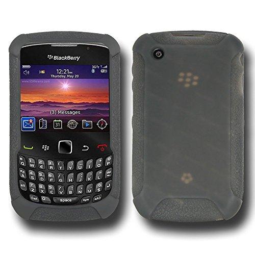 Jelly Case for Curve 8520/BlackBerry Gemini - Smoke Gray (8520 Skin)