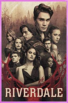 1art1 Riverdale Poster et Cadre - Let The Game Begin MDF 91 x 61cm