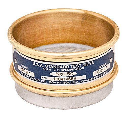 Performer 10 - Gilson Performer V3CF #10 Brass/Stainless Steel Sieve, 10, 3