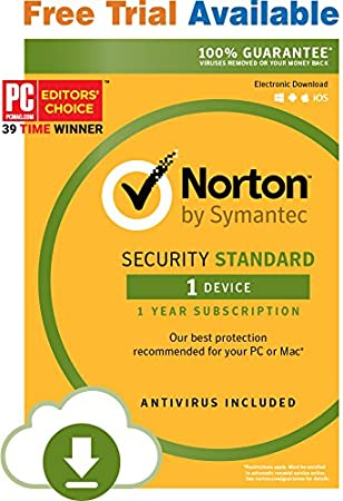 Norton Security Standard - 1 Device- Monthly Subscription